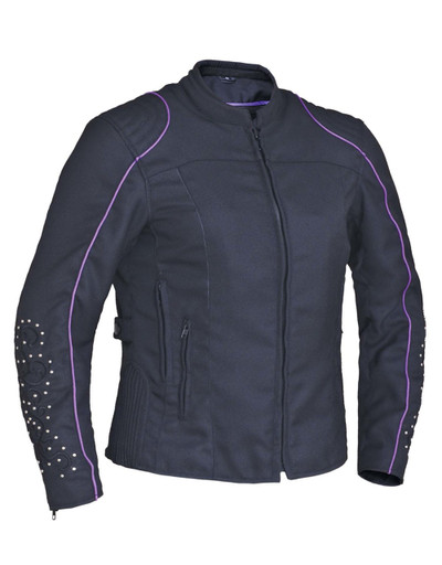 Angel Wings Design textile jacket