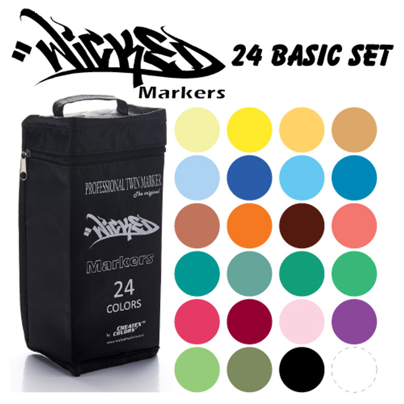 Createx Wicked Markers now available for purchase!