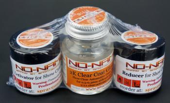 2K Gloss Clear Coat 1oz set by NO-NAME brand
