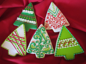Decorated cookies by Nancy Paine SeasonsOfJoy.Etsy.com