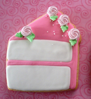 Decorated cookie by brendascakes.com
