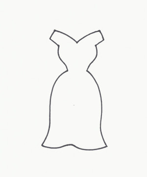 6919 LITTLE BLACK DRESS  B COOKIE CUTTER