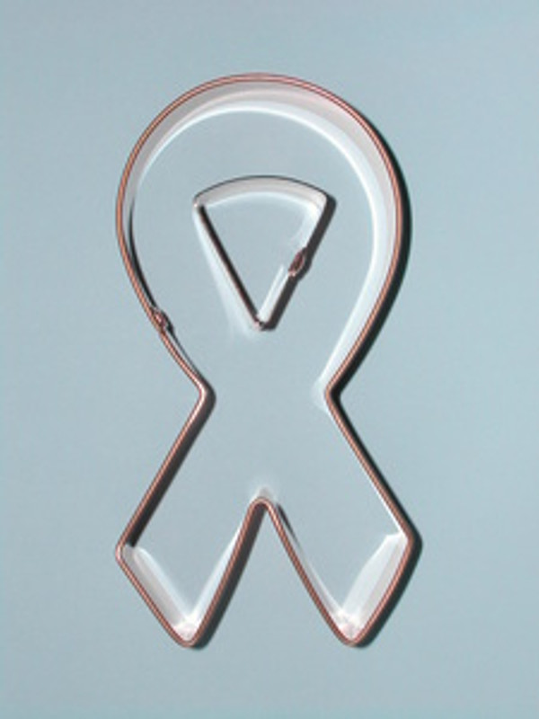 AWARENESS RIBBON WITH INSET