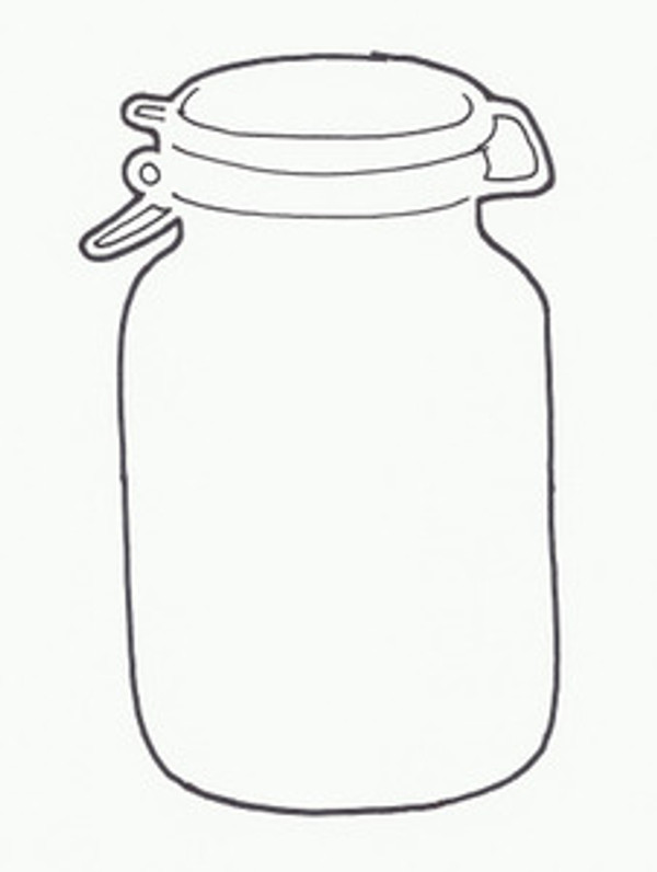 CANNING JAR A STYLE