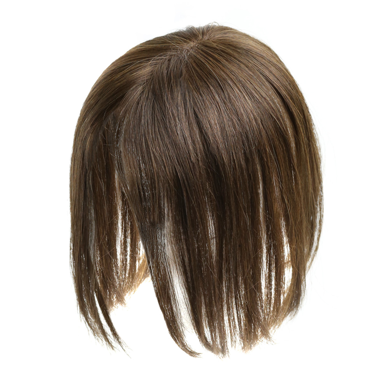 Monofilament Clip-in Human Hair Women's Topper - Fortune