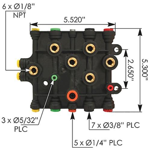 AIR MANIFOLD FREIGHTLINER  P/N  A12-14736-003