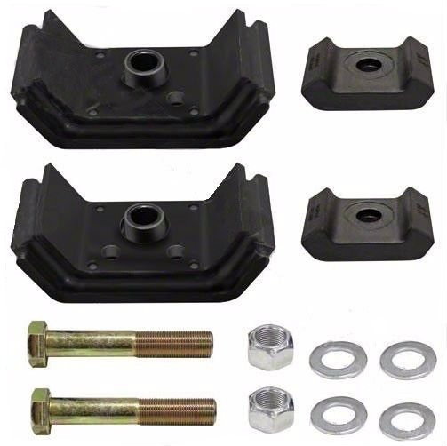 Motor Mount Rear Kit for Kenworth T600, Set of Two | #K066-377, #K066-42