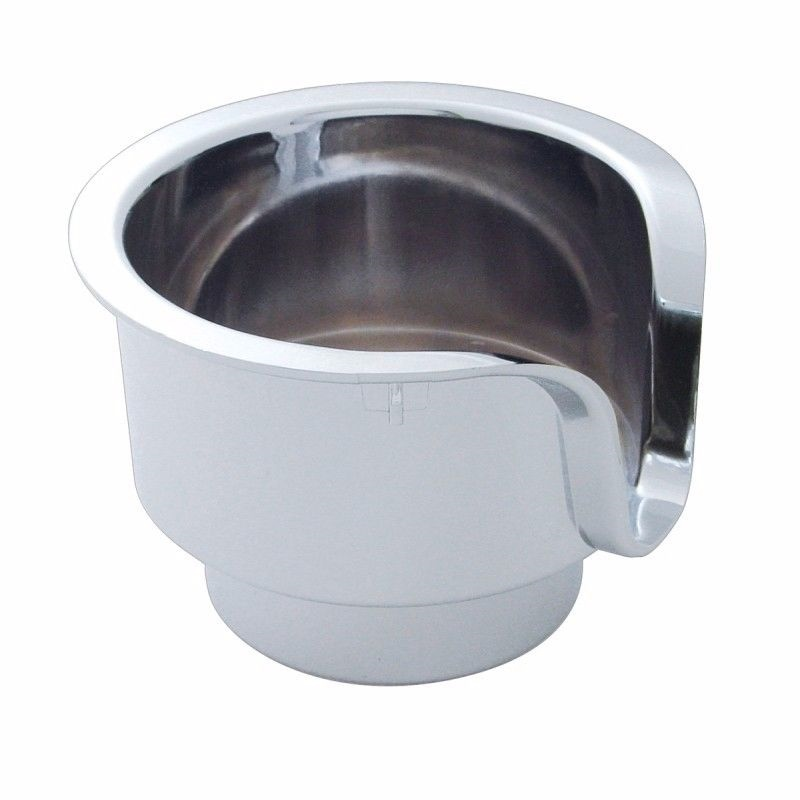 Chrome Cup Holder Insert for Peterbilt & Kenworth (2005 & Older)