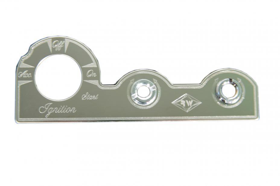 Control Plate - Ignition/Dimmer/Wiper - Peterbilt 370 Series (2001-2005)