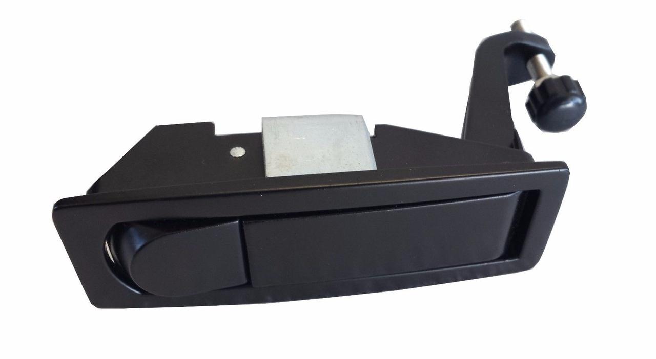 Latch Kit - Tool Box (BLACK) Peterbilt 386 387 Models (C233213) PUSHBUTTON STYLE