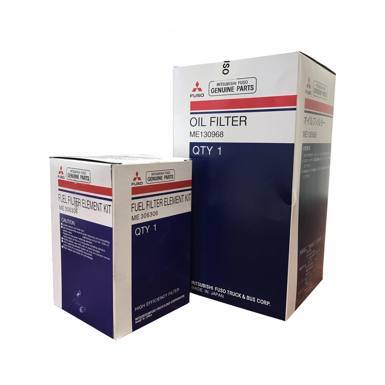 Mitsubishi Fuso Truck Fuel & Oil Filter Kit