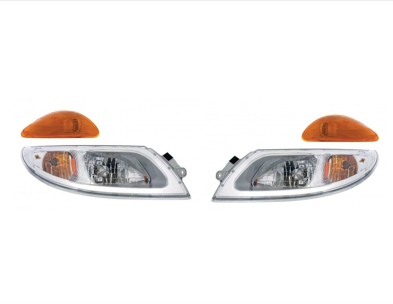 Headlight Set - International Durastar Trucks (2003+) Includes Turn Signals
