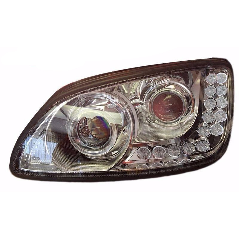KENWORTH 18 LED CHROME PROJECTOR HEADLIGHT (DRIVER-LH) KENWORTH T660