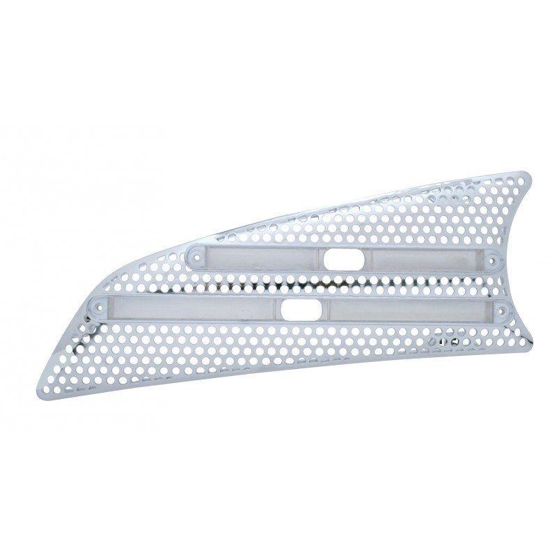 Kenworth T660 Air Intake - LED Cutout - (Driver)