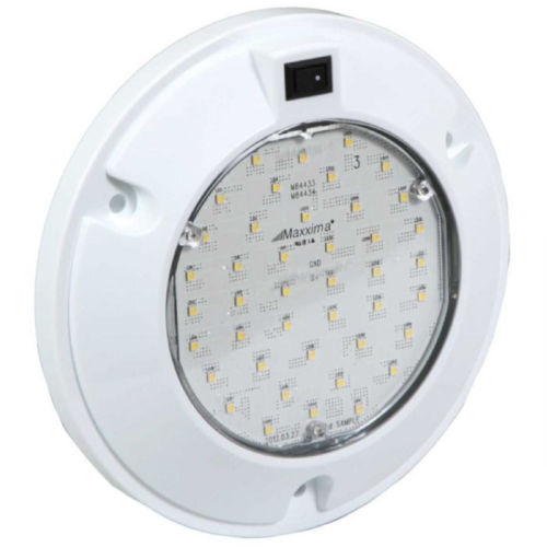 "6"" Interior Dome Light with Switch 900 Lumens Interior Light LED M84434"