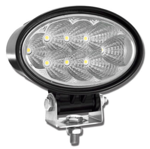 High Performance LED Work Light 24W (1800 Lumens) 12-28 VDC