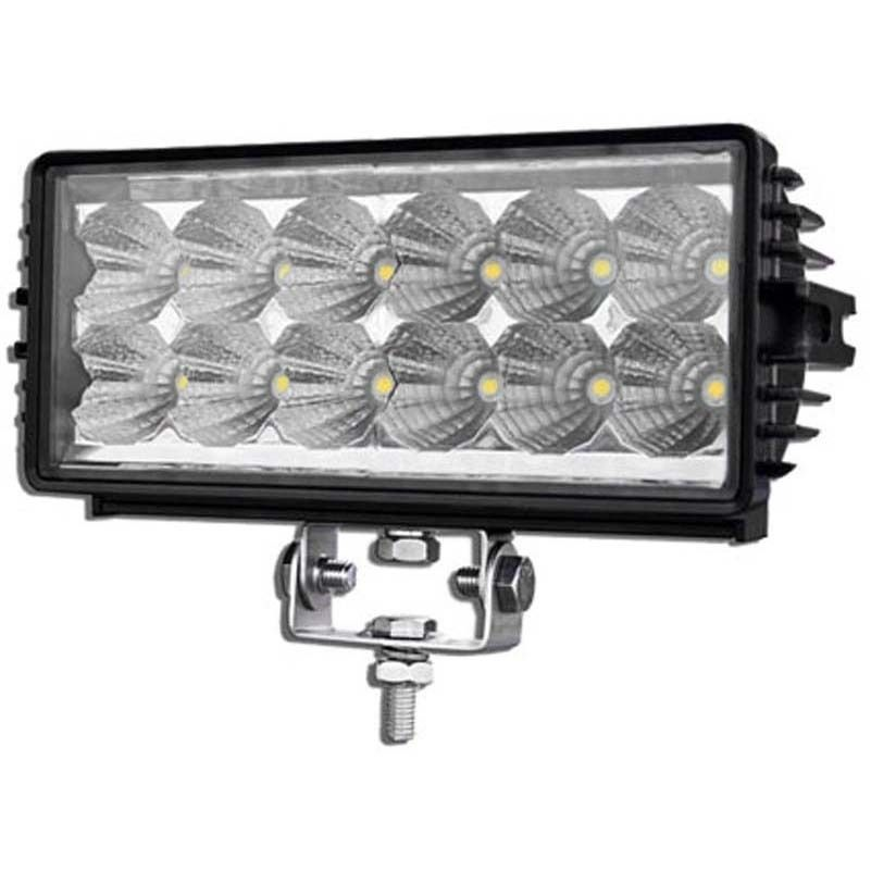 High Performance 12 LED Work Light 36W (2700 Lumens) 12-28 VDC