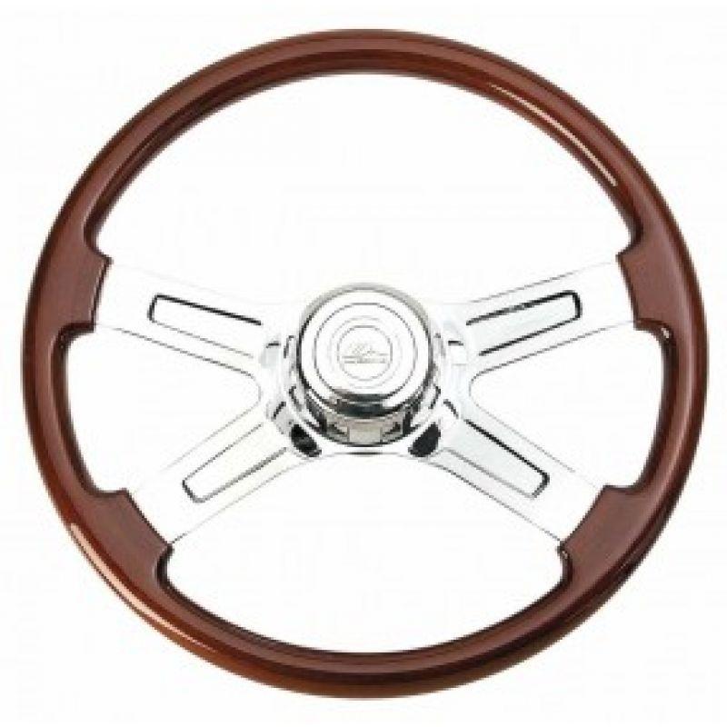 """18"""" 4 Spoke Steering Wheel for Kenworth and Peterbilt"""