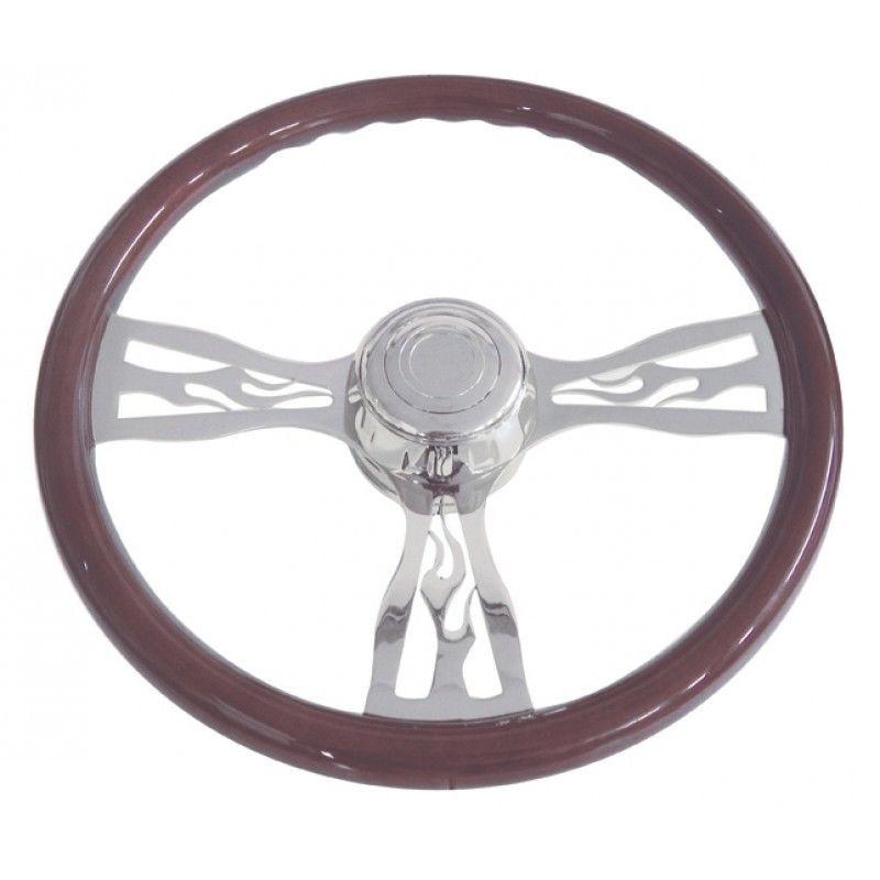 "18"" Flame Steering Wheel for Freightliner, 1989 - July 2006"