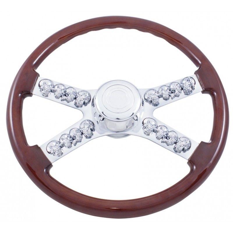 """18"""" Skull Steering wheel for Freightliner 1989 - July 2006"""