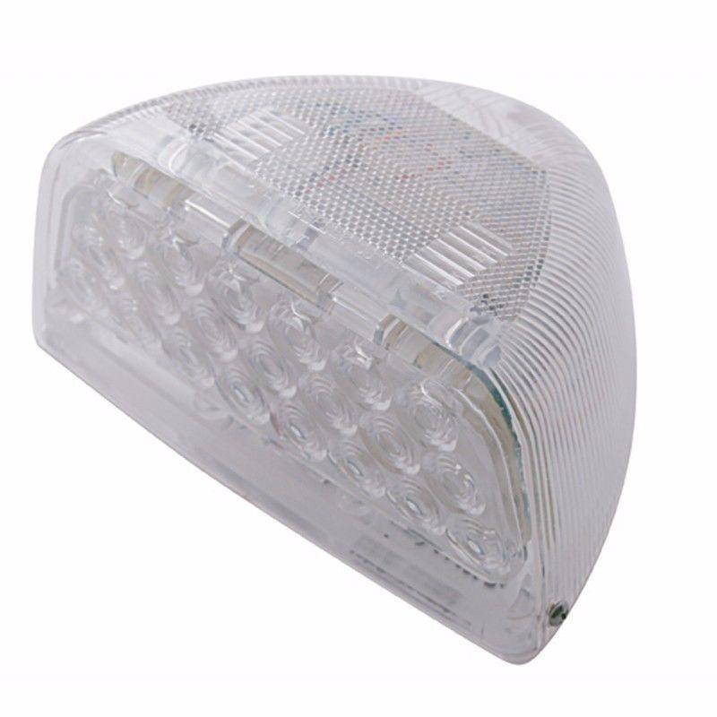 Peterbilt 379 359 Turn Signal Head Light Marker Light 31 LED Amber/Clear