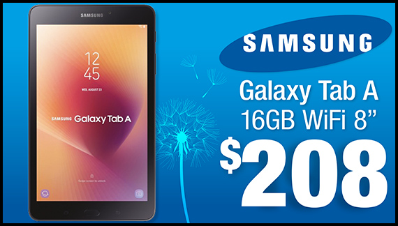 Limited Time Special: Samsung Galaxy Tab A Just $208