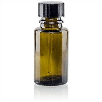 EMPTY AMBER BOTTLE (15 ml)