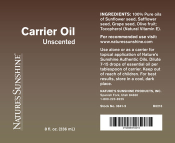 CARRIER OIL (8 fl oz)