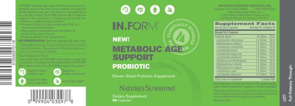 IN.FORM Probiotic (90 Caps)