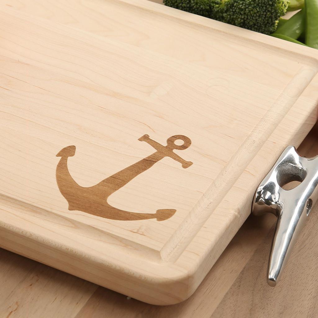 Nautical Maple Cutting Board