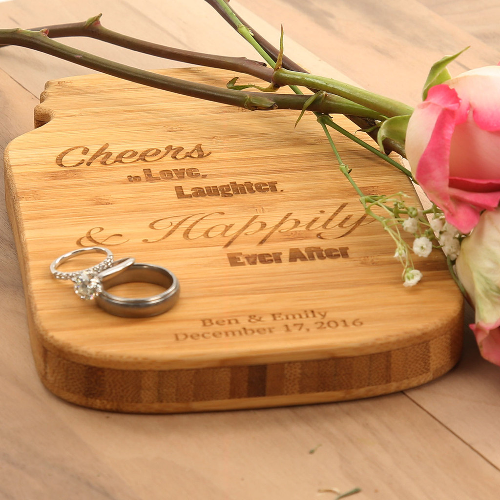 Love Laughter & Happily Ever After Cheese Board