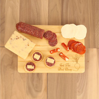Let the Beet Drop Laser Engraved Cutting Board
