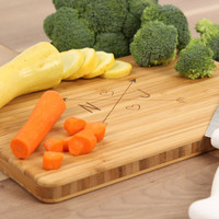 Personalized Monogram Engraved Bamboo Cutting Board