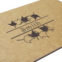 Fall Leaves Engraved Cutting Board