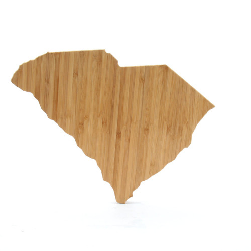 South Carolina State Shaped Bamboo Cutting Boards