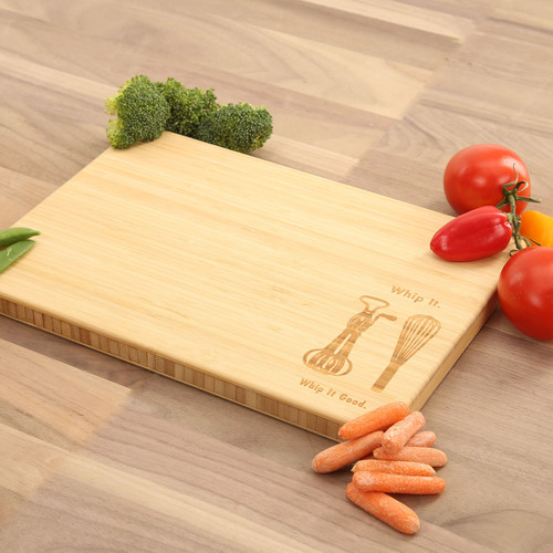 Whip It Good Laser Engraved Cutting Board