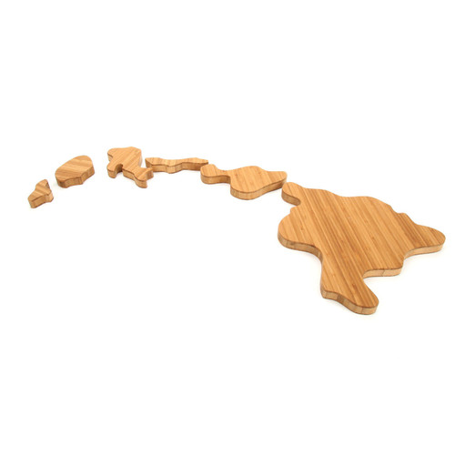 Hawaii State Shaped Cutting Boards