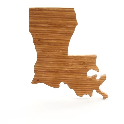 Louisiana State Shaped Cutting Boards