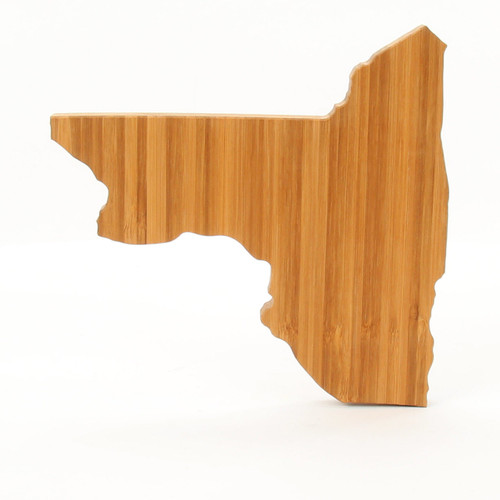 New York State Shaped Cutting Boards