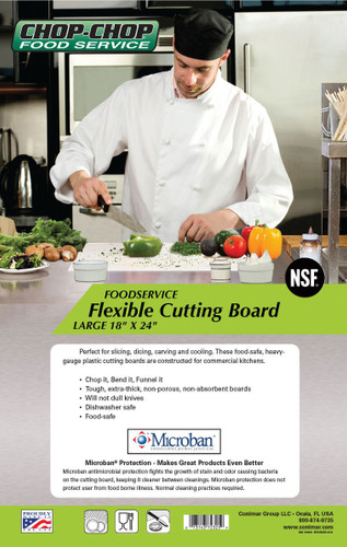 "Chop-Chop Food Service Flexible Cutting Board, Size 18"" x 24"""