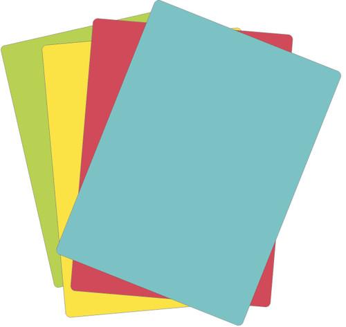 "Chop-Chop Non-Slip Flexible Cutting Board, Size 11"" x 15"", Pack of 4"