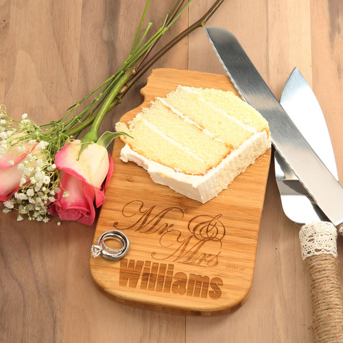 Mr. & Mrs. Single Cheese Board