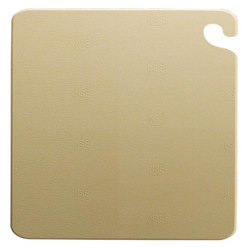 "San Jamar BROWN Cut-N-Carry Cutting Board 15"" x 20"" x 1/2"""