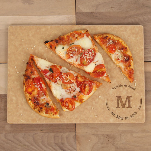 Newsie Monogrammed Cutting Board