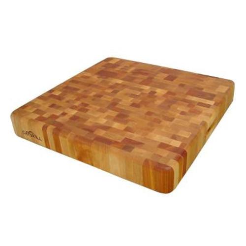 "Catskill Craftsmen Square End Grain Reversible Chopping Block - 20"" x 20"" x 3"""