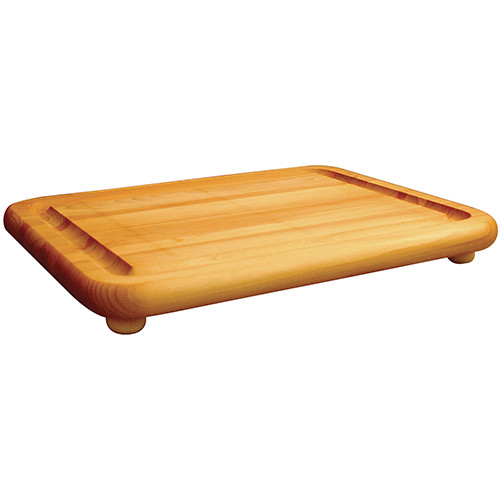 "Catskill Craftsmen The Carver/Jumbo Chopping Block with Feet - 19"" x 15"" x 1.75"