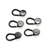 Button Pant Extender (black) - package of 5