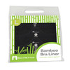 More of Me to Love Bamboo Bra Liners Black Packaged