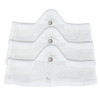 Medium White More of Me to Love Bamboo Bra Liners