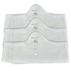 Large White More of Me to Love Bamboo Bra Liners
